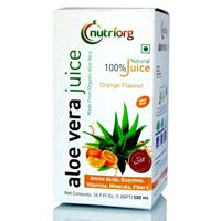 Orange Flavour Aloe Vera Juice