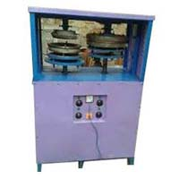 Semi Automatic Double Die Dona Plate Making Machine