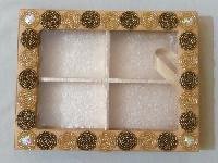 Beaded Christmas Gifts Box
