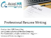 Professional Resume Writing in India