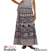 Ladies Wrap Around Skirts