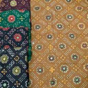 Bandhani Suits Unstitched Dress Materials