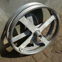 Double Chaff Cutter Belt Pulley