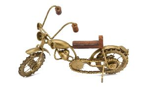 Antique Brass Bike
