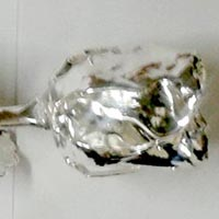 Silver Plated Rose