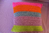 Hand Crochet Cushion Cover