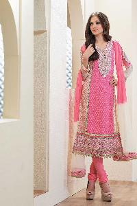 Georgette Churidar Suits