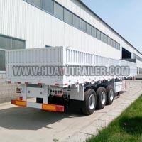 3 axle wall side semi trailer