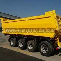 4-Axle Dump Semi Trailer