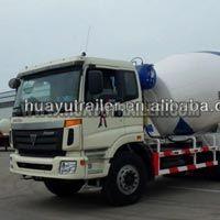 Cement Truck Powder Semi Trailer (8M3)