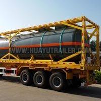 Container Semi Oil Tank Trailer