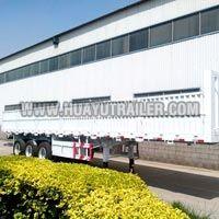 Heavy Duty 3 Axle Side Wall Open Semi Trailer