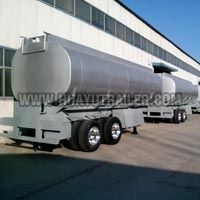 stainless steel tank semi trailer
