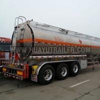 Three Axle Chemical Liquid Tanker Semi Trailer