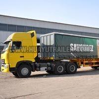 Three Axle Container Semi Trailer (20Feet)