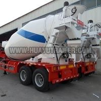 Two Axle Concrete Mixer Truck