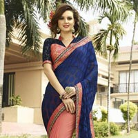 Mannat Wedding Designer Saree