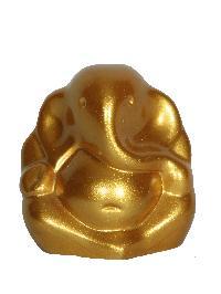 Golden Color Car Dash Board Ganesh Statue