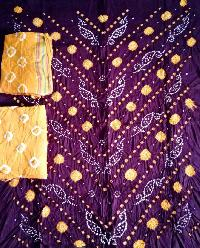 58d83fb7d8 Bandhani Dress Material - Manufacturers, Suppliers & Exporters in India