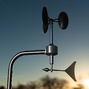 Meteowind 2 -cup Anemometer & Wind Vane