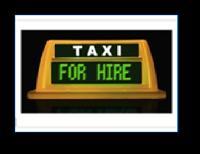 Digital Taxi Top Light