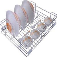 Cup & Saucer Kitchen Drawer Basket