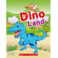 Art Factory-dino Land Magical 5 in 1 Colouring Book