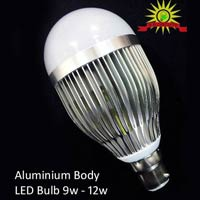 Alminiuum Body LED Bulb 9W to 12W
