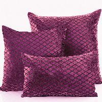 Net Velvet Cushion Cover