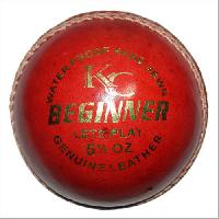 Kc Beginner 4 Piece Leather Cricket Ball
