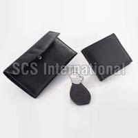 Leather Wallet Set