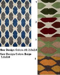 Composition  Hand Tufted Loop Rugs