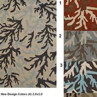 Hand Tufted Leaflet Carpets