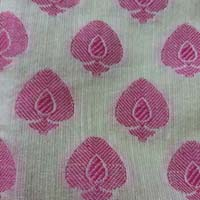 Jacquard Cotton Silk Fabric