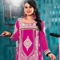 Party Wear Fancy Resham Embroidered Dress