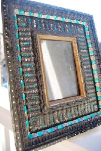 Carved Wooden Picture Frame