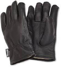 Grain Leather Driving Glove