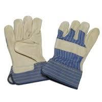 Grain Leather Palm Glove