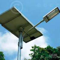 Solar CFL Street Lighting System