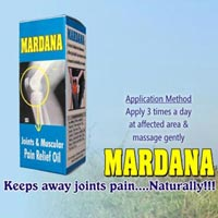 Ayurvedic Massage Oil-mardana