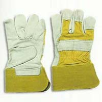 Grain Leather Canadian Gloves
