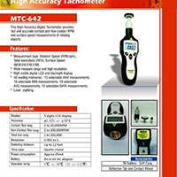 High Accurecy Tachometer