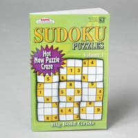 Puzzle Book Sudoku 3 Asst in 144pc Floor Display 128pg