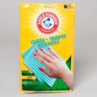 Wipes 6ct Reusable Household Arm Hammer