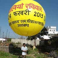Advertisement  Inflatable  Polio Balloon