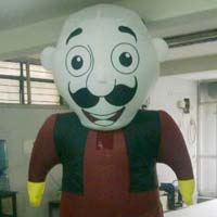 Inflatable walking  Character