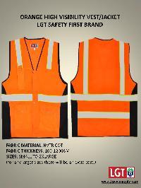Orange Safety Jackets