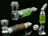 Brass Metal Smoking Pipe