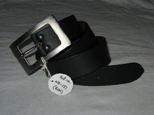 Black Leather Belts