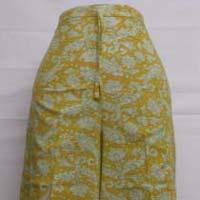 India Oem Wholesale New Style Printed Soft Elastic Waist Women Palazzo
